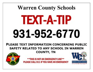Tip Line - Warren County Schools, TN